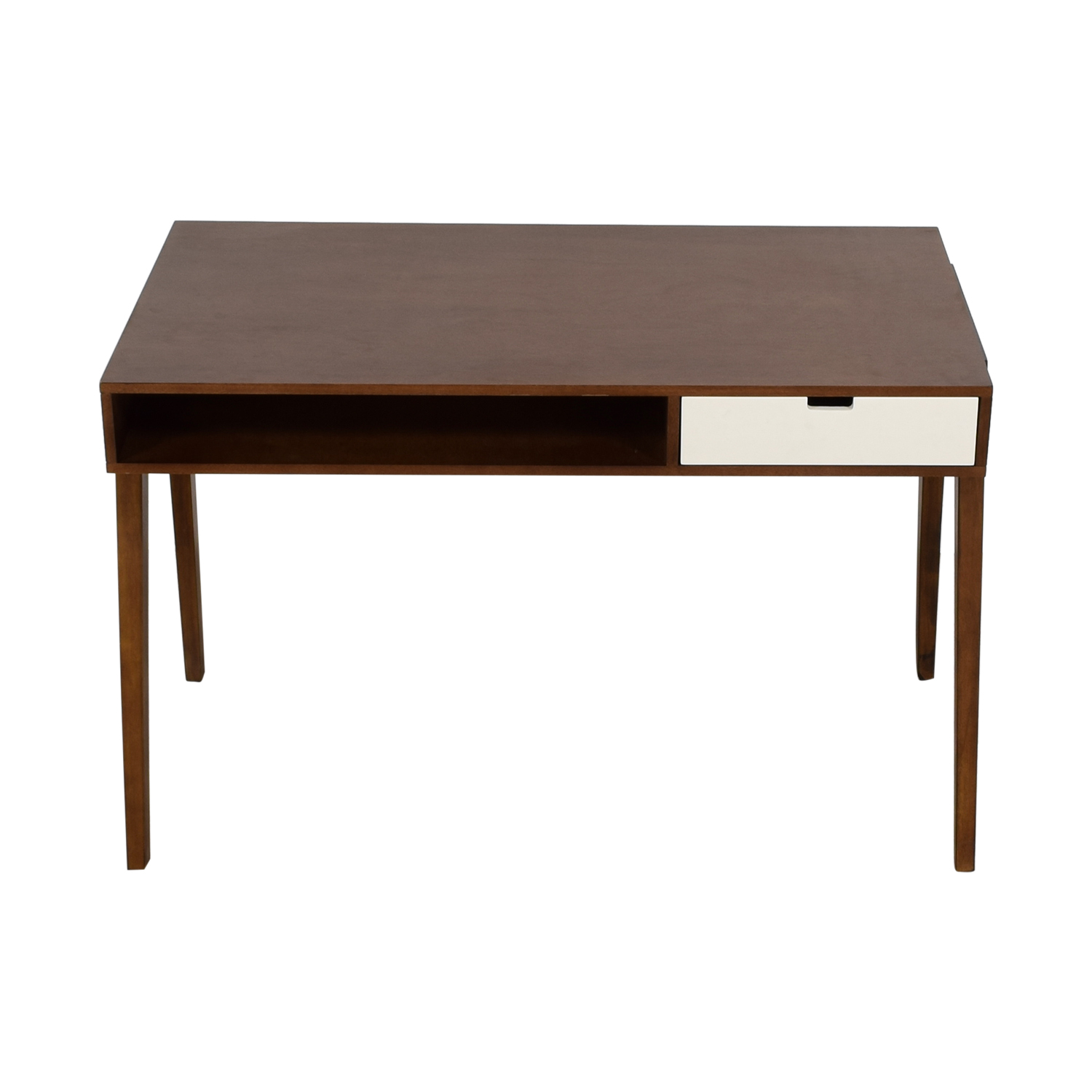 wood desks home office. Buy White Single Drawer Wood Desk Home Office Desks