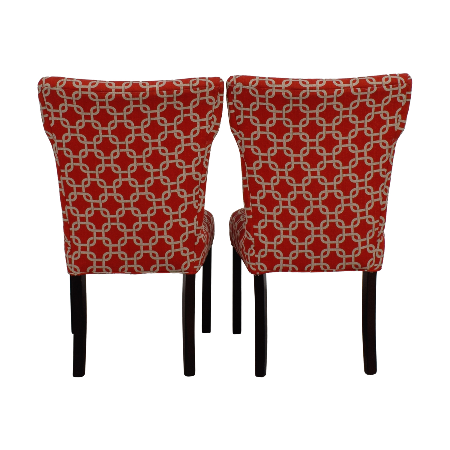 shop Red and White Accent Chairs