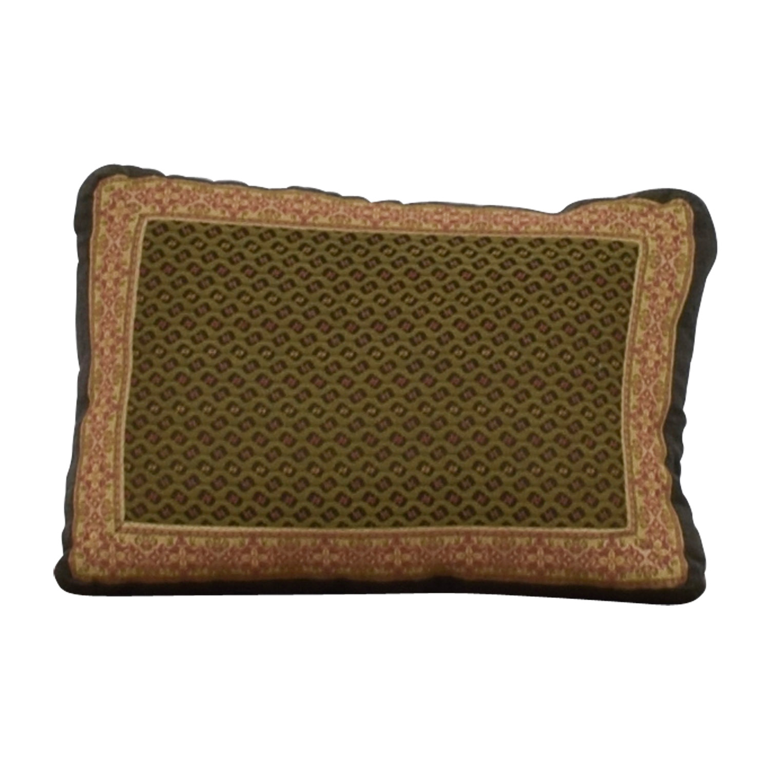 shop Leather and Mixed Fabric Accent Pillow Decor