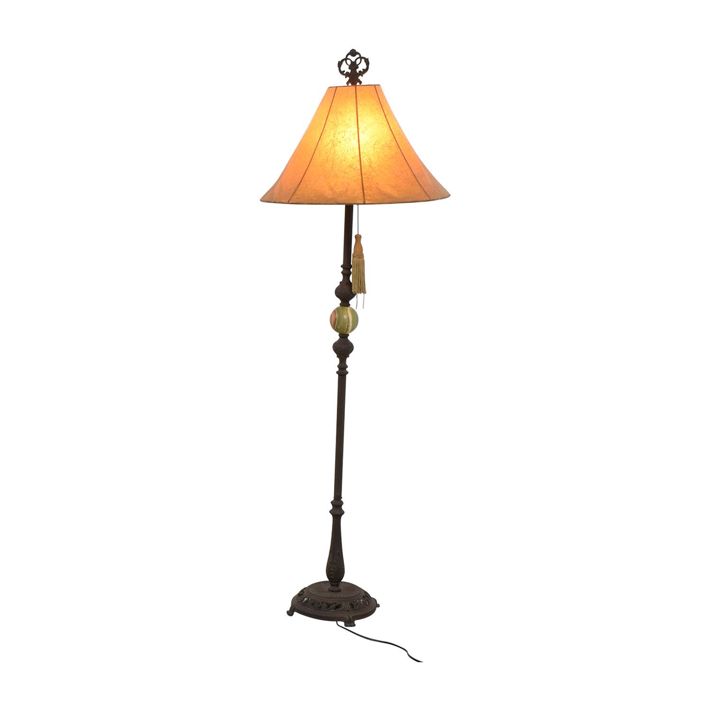 Vintage Ornate Floor Lamp / Decor