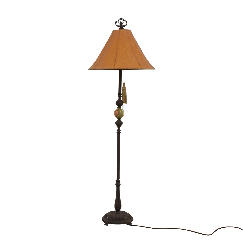 Vintage Ornate Floor Lamp dimensions