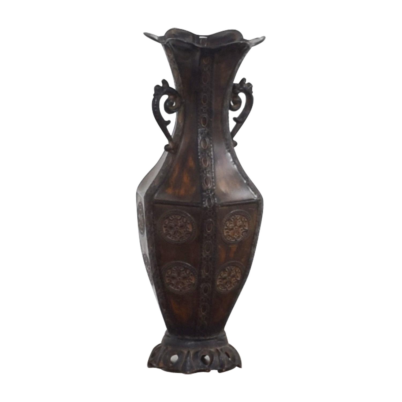 Bronze Metal Vase coupon
