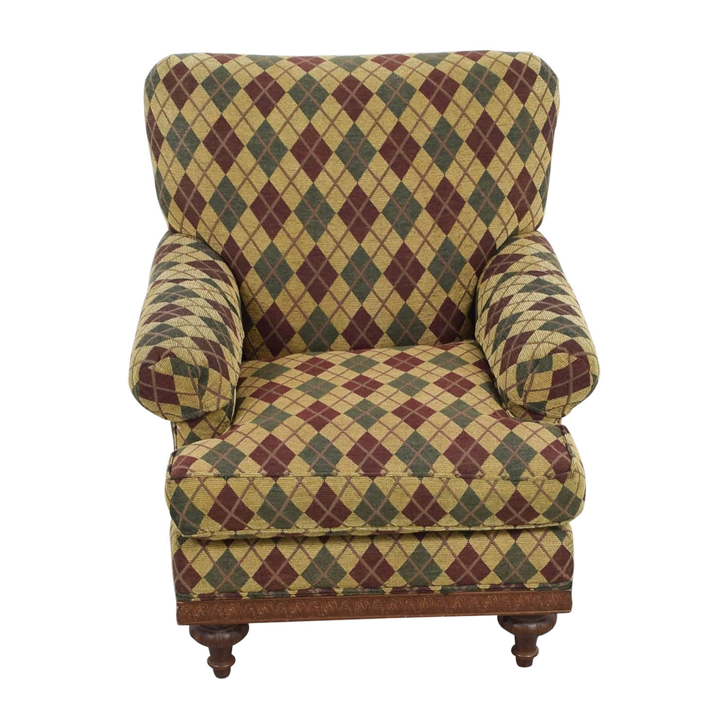 shop Argyle Upholstered Arm Chair