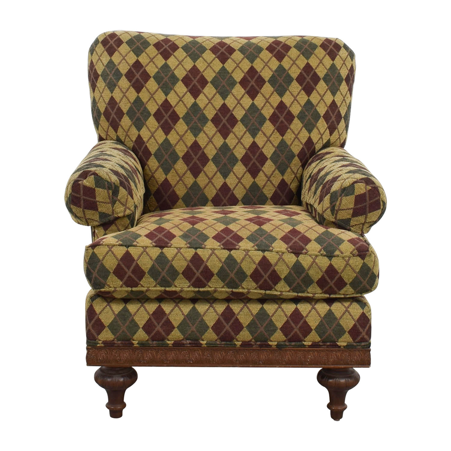 Argyle Upholstered Arm Chair on sale