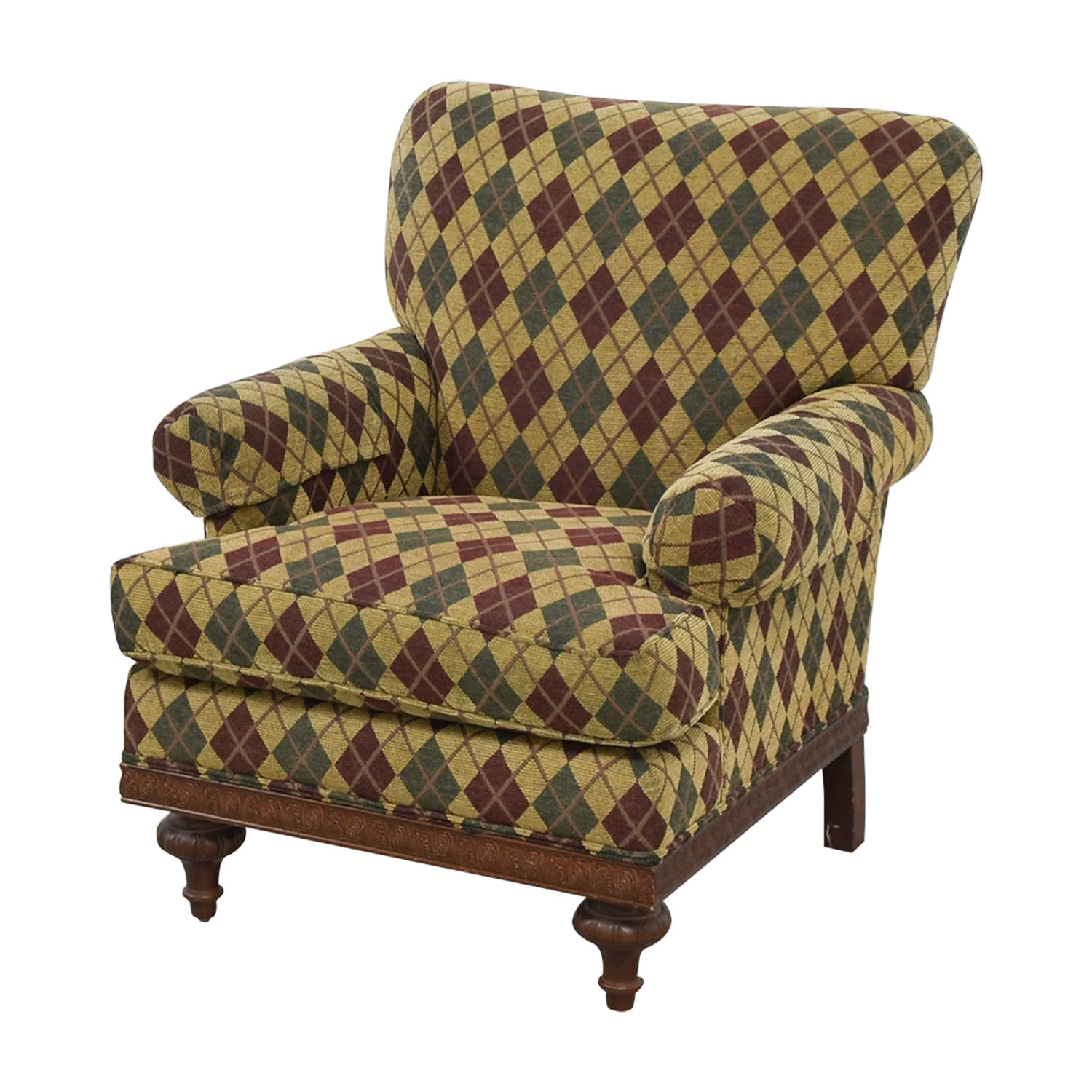 Perfect ... Argyle Upholstered Arm Chair Accent Chairs ...