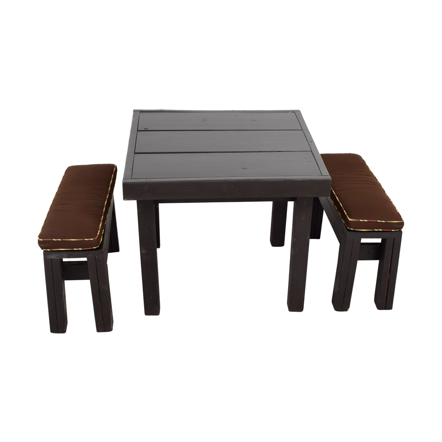 83 off ballard design ballard design modern rust table for Ballard designs bench seating