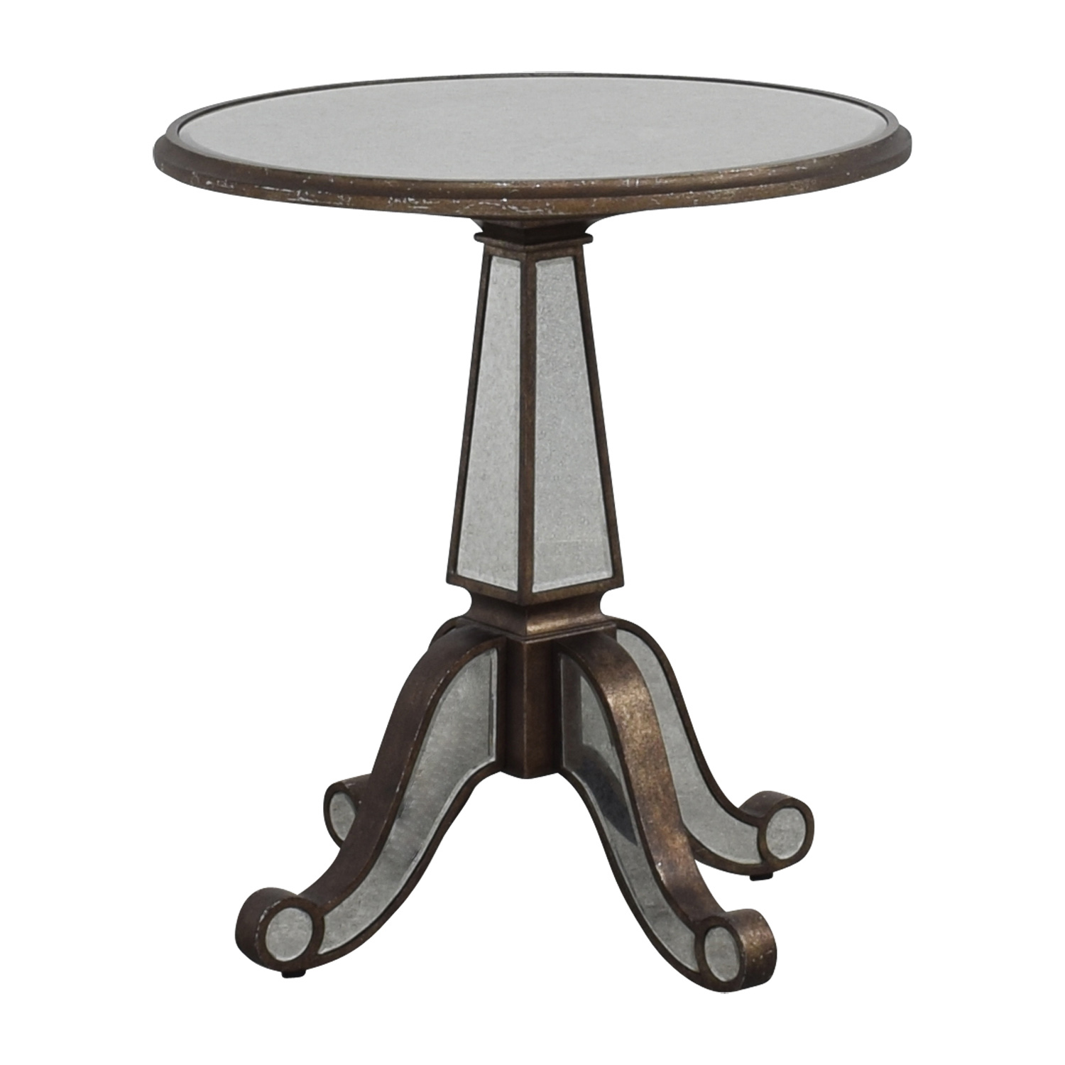 buy Horchow Horchow Michelle Round Mirrored Table online