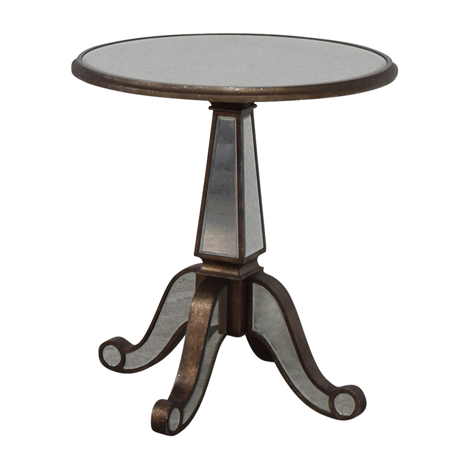 Horchow Horchow Michelle Round Mirrored Table on sale