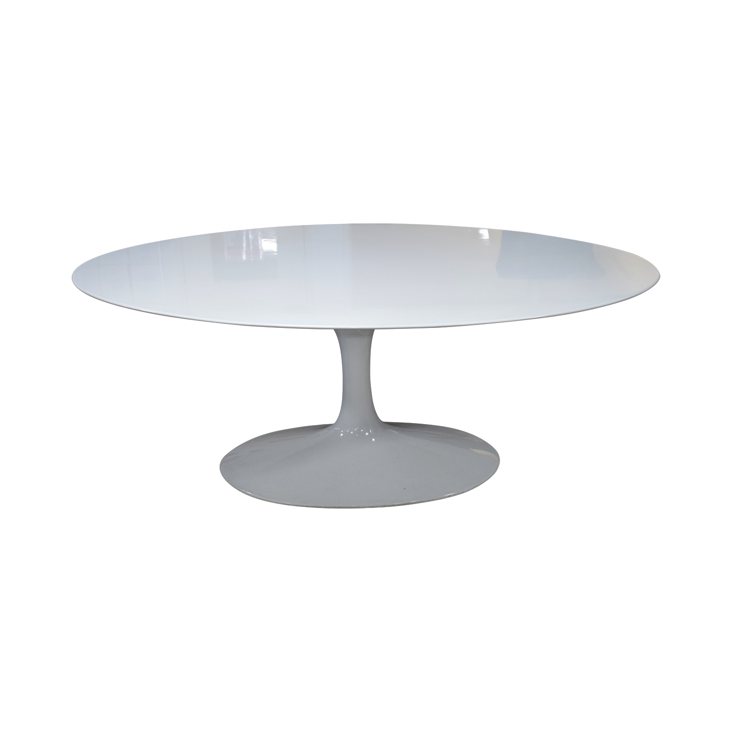 Replica of White Knoll Saarinen Oval Table Tables