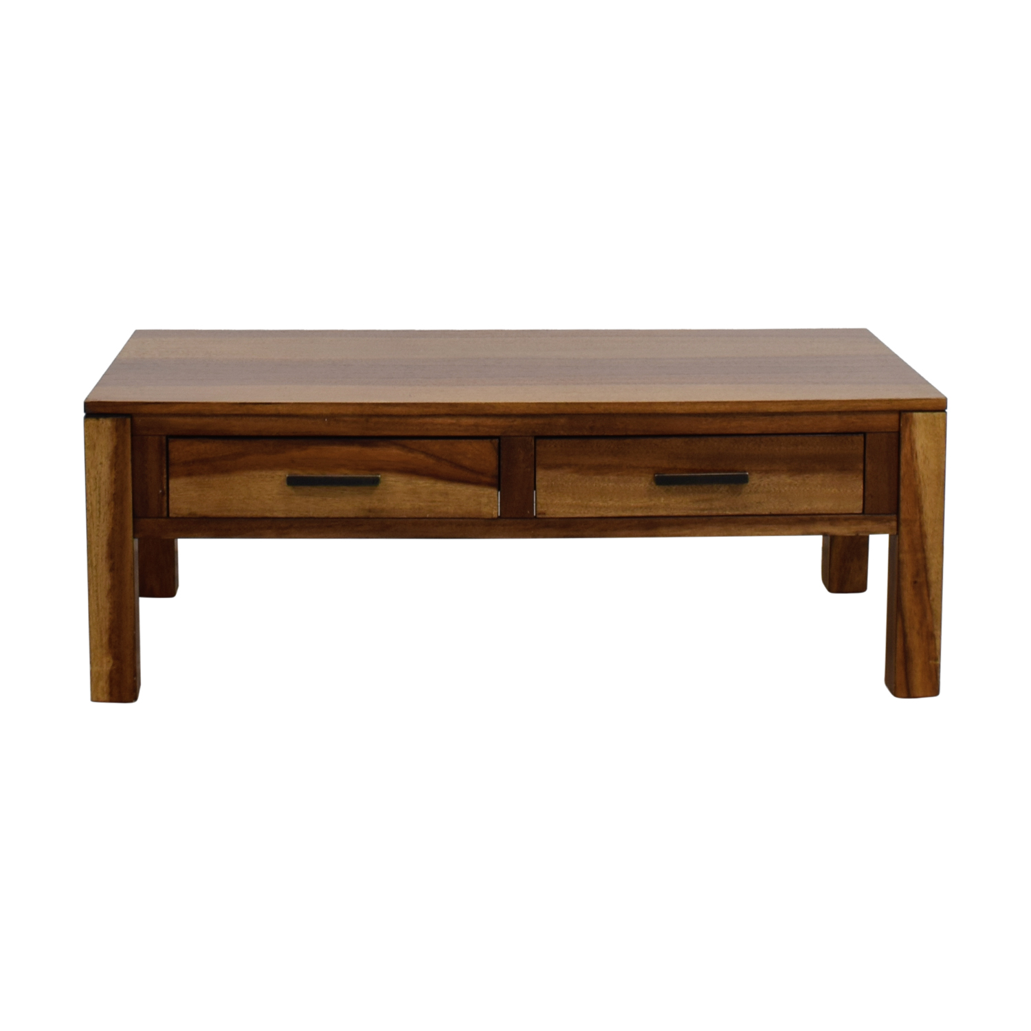 69 off coaster coaster coffee table with two drawers for Coffee table sets with drawers