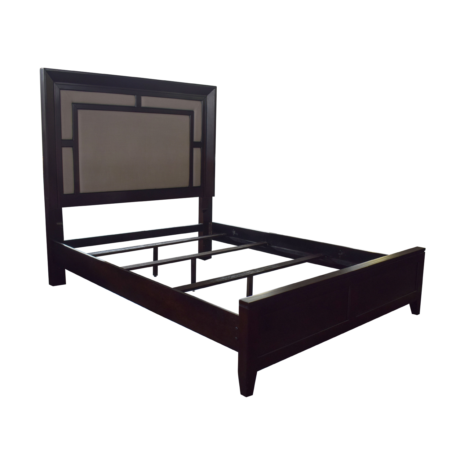 Raymour & Flanigan Raymour & Flanigan Cadence Queen Platform Bed nyc