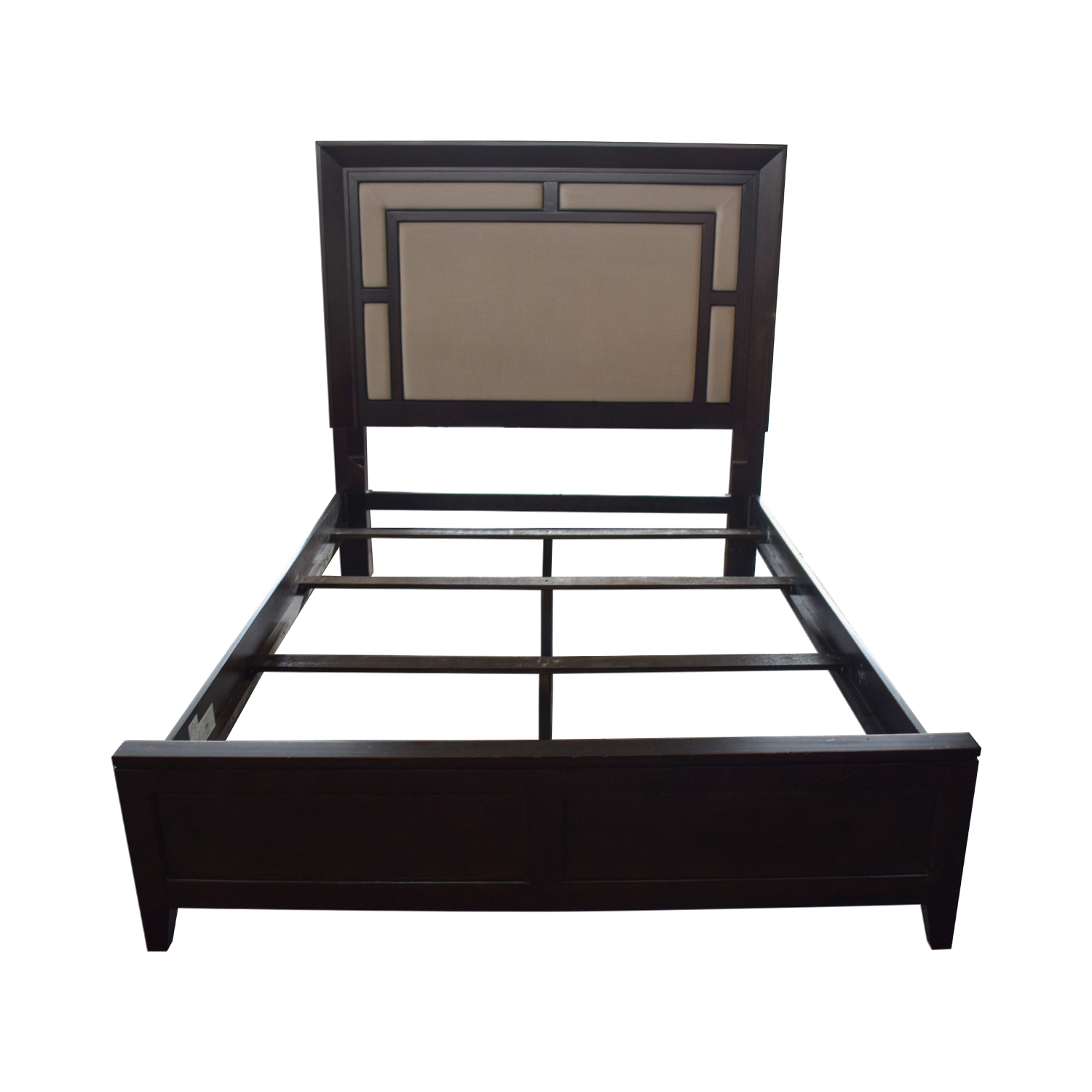 Raymour & Flanigan Raymour & Flanigan Cadence Queen Platform Bed for sale