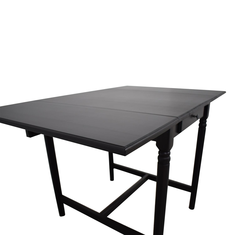 Ikea Ingatorp Drop Leaf Table Tables