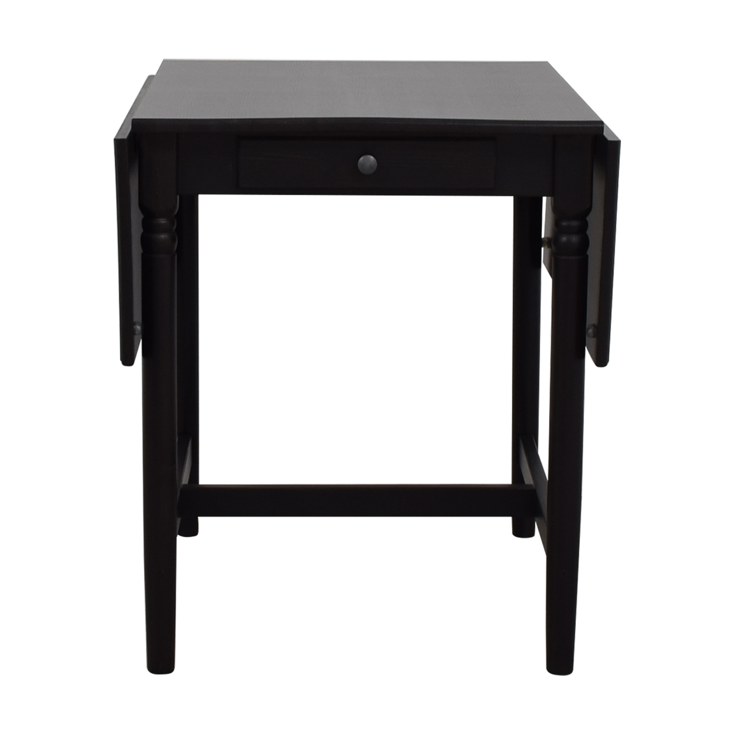 Superb 52 Off Ikea Ikea Ingatorp Drop Leaf Table Tables Bralicious Painted Fabric Chair Ideas Braliciousco