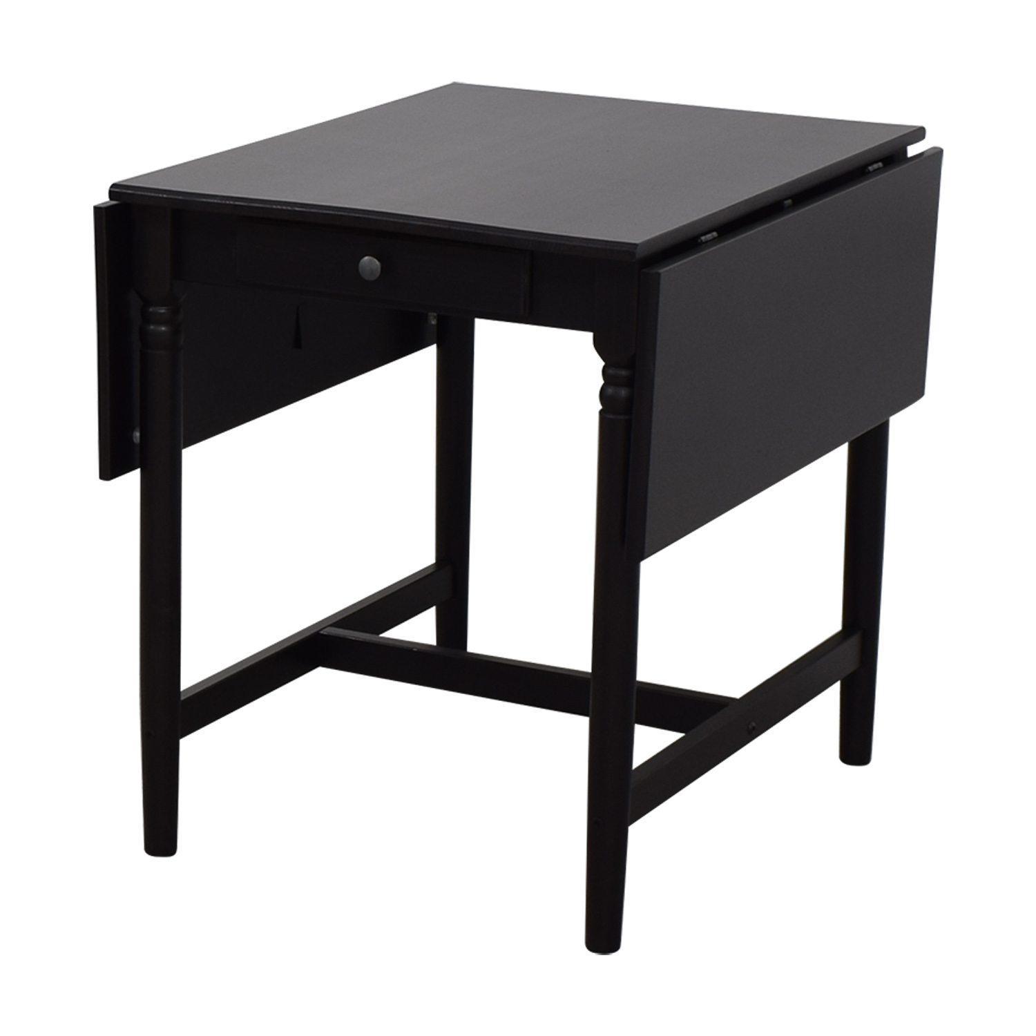 52 Off Ikea Ikea Ingatorp Drop Leaf Table Tables