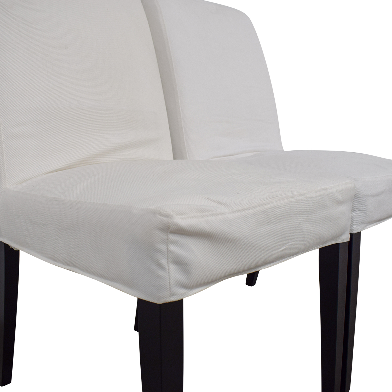 Astonishing 88 Off Ikea Ikea Hendriksdal Dining Chairs Chairs Machost Co Dining Chair Design Ideas Machostcouk