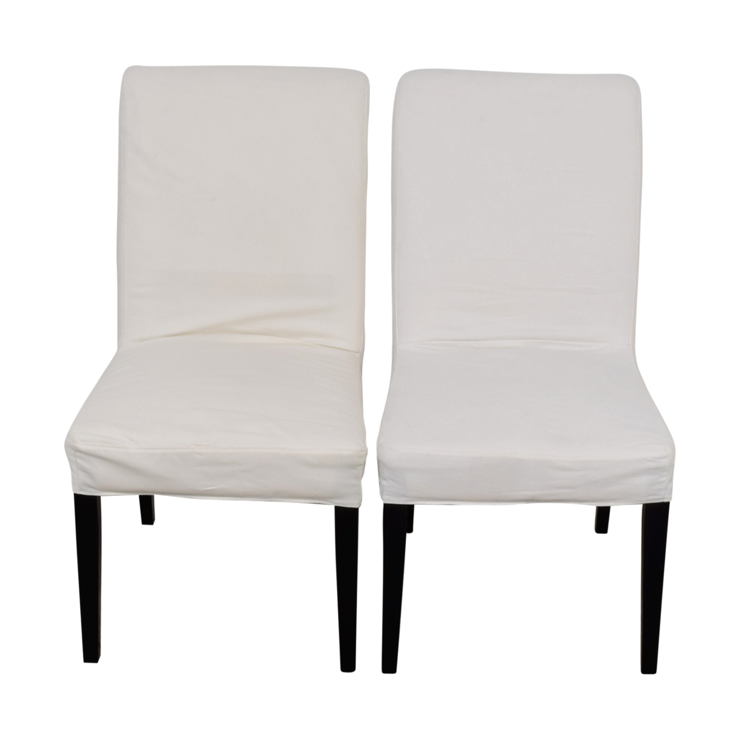 88 off ikea ikea hendriksdal dining chairs chairs. Black Bedroom Furniture Sets. Home Design Ideas
