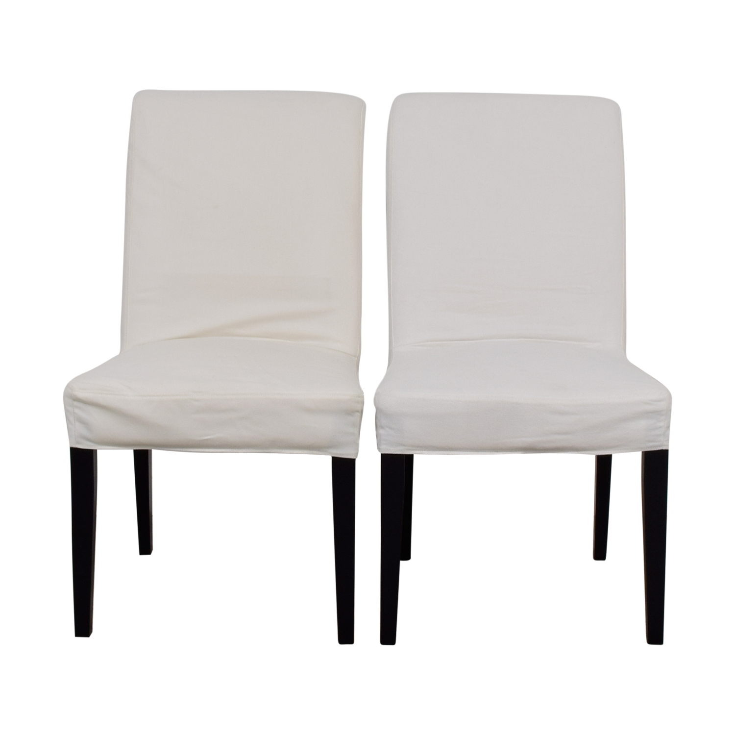 Outstanding 88 Off Ikea Ikea Hendriksdal Dining Chairs Chairs Spiritservingveterans Wood Chair Design Ideas Spiritservingveteransorg