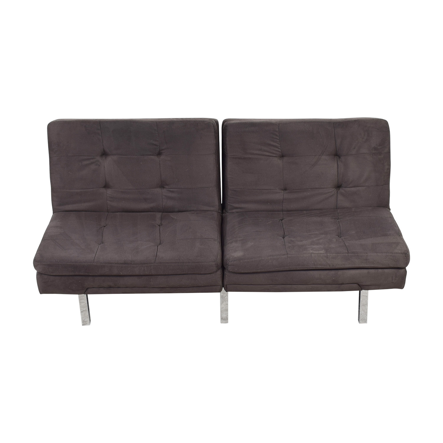 Charcoal Convertible Sofa price