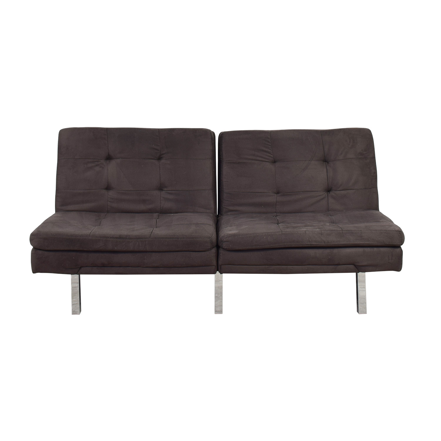 Charcoal Convertible Sofa second hand