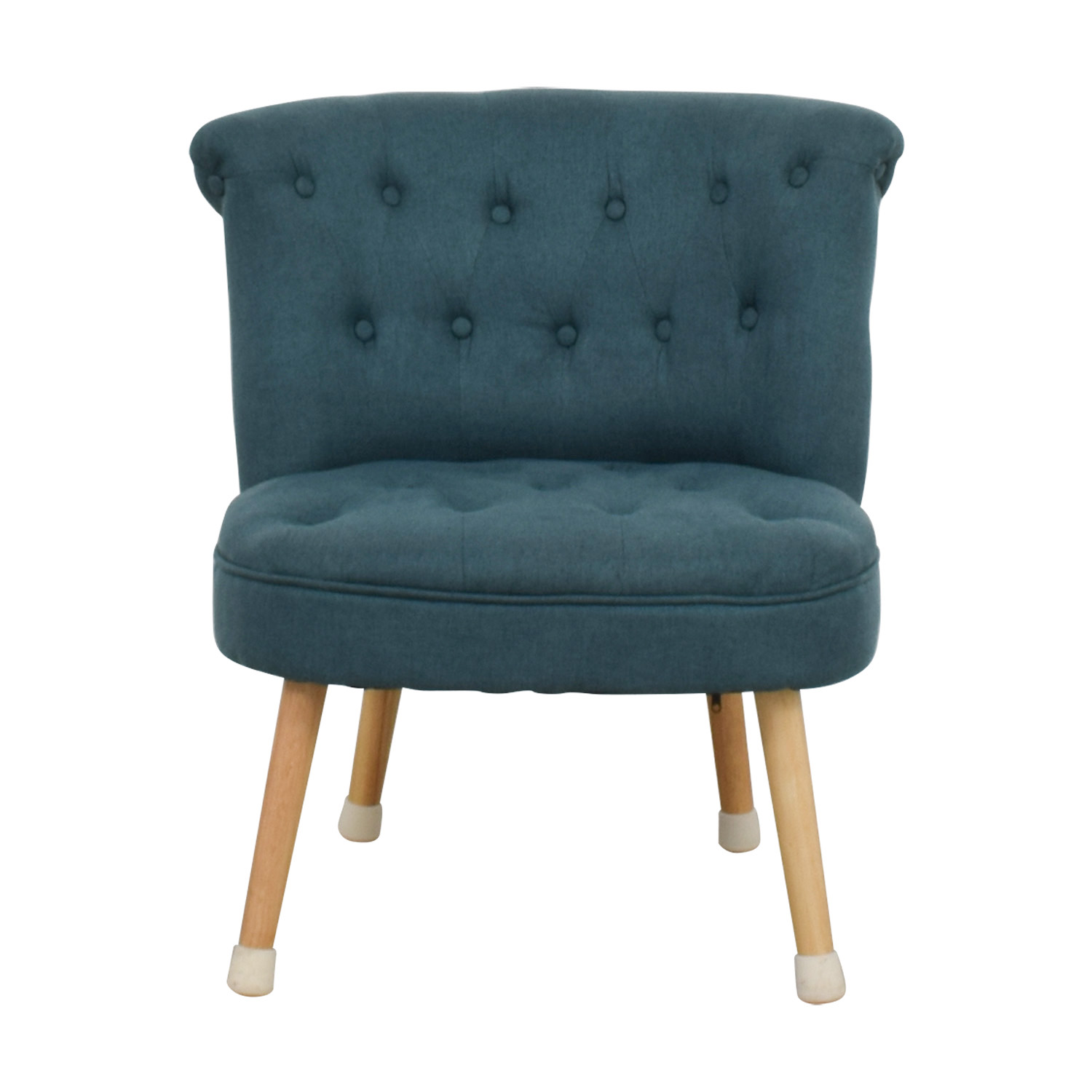 Christopher Knight Mid Century Green Tufted Accent Chairs / Accent Chairs  ...