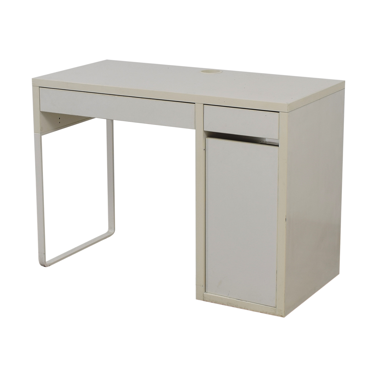 used-two-drawer-white-desk-with-high-rover-and-printer-storage Home Office Furniture Two Workstations on home office desk chairs, office cubicles workstations, home office station, home office uk, home office organization ideas, home styles furniture, home office plans, call center furniture workstations, home office workstation ideas, home office couch, home office multiple monitors, office computer workstations, home office room, herman miller workstations, home office using kitchen cabinets, home office furnishings, hon furniture workstations, modern office workstations, used office workstations, home rooms furniture,
