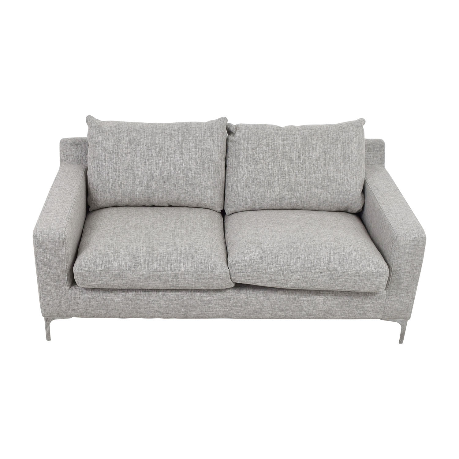 shop Sloan Grey Two-Cushion Sofa online