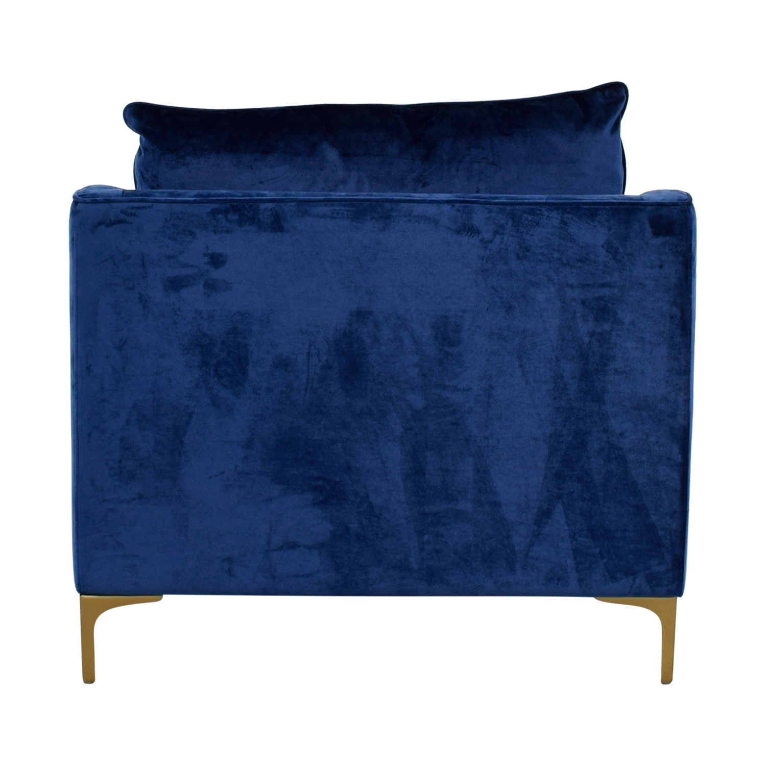 Mod Velvet Oxford Blue Accent Chair / Chairs