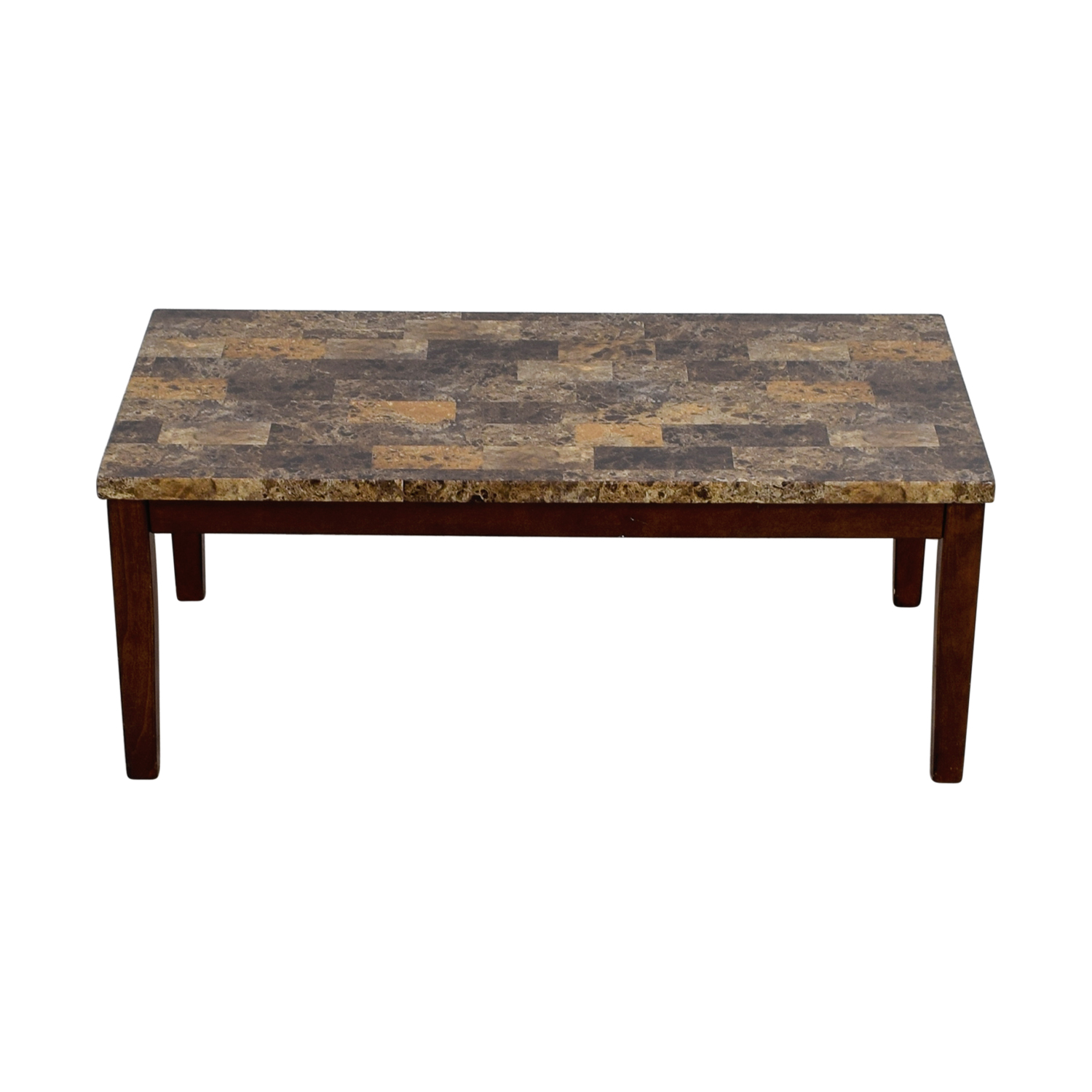 56 Off Ashley Furniture Ashley Furniture Faux Marble Coffee Table