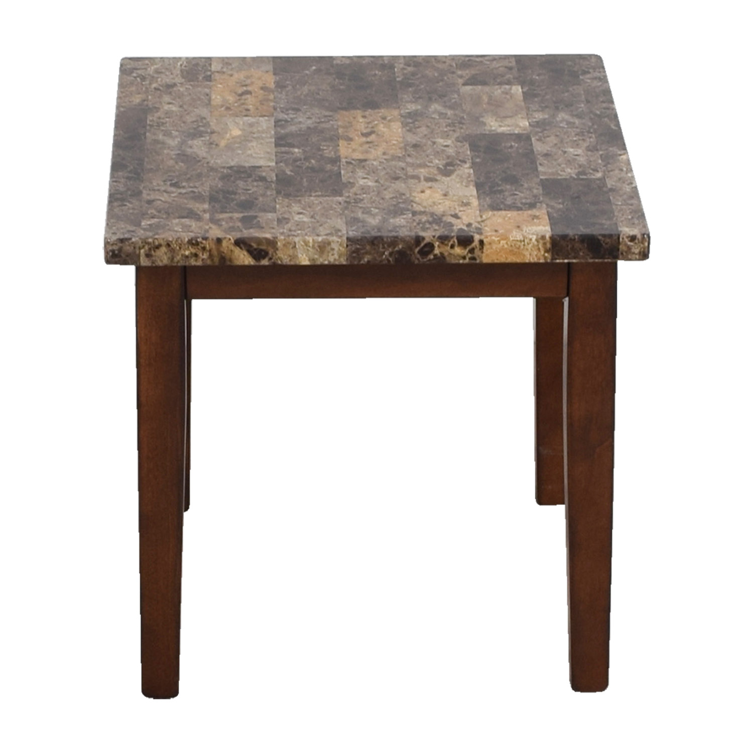 Ashley Furniture Faux Marble End Table / End Tables
