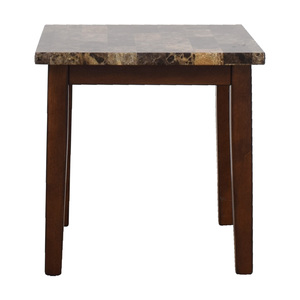 Ashley Furniture Faux Marble End Table sale