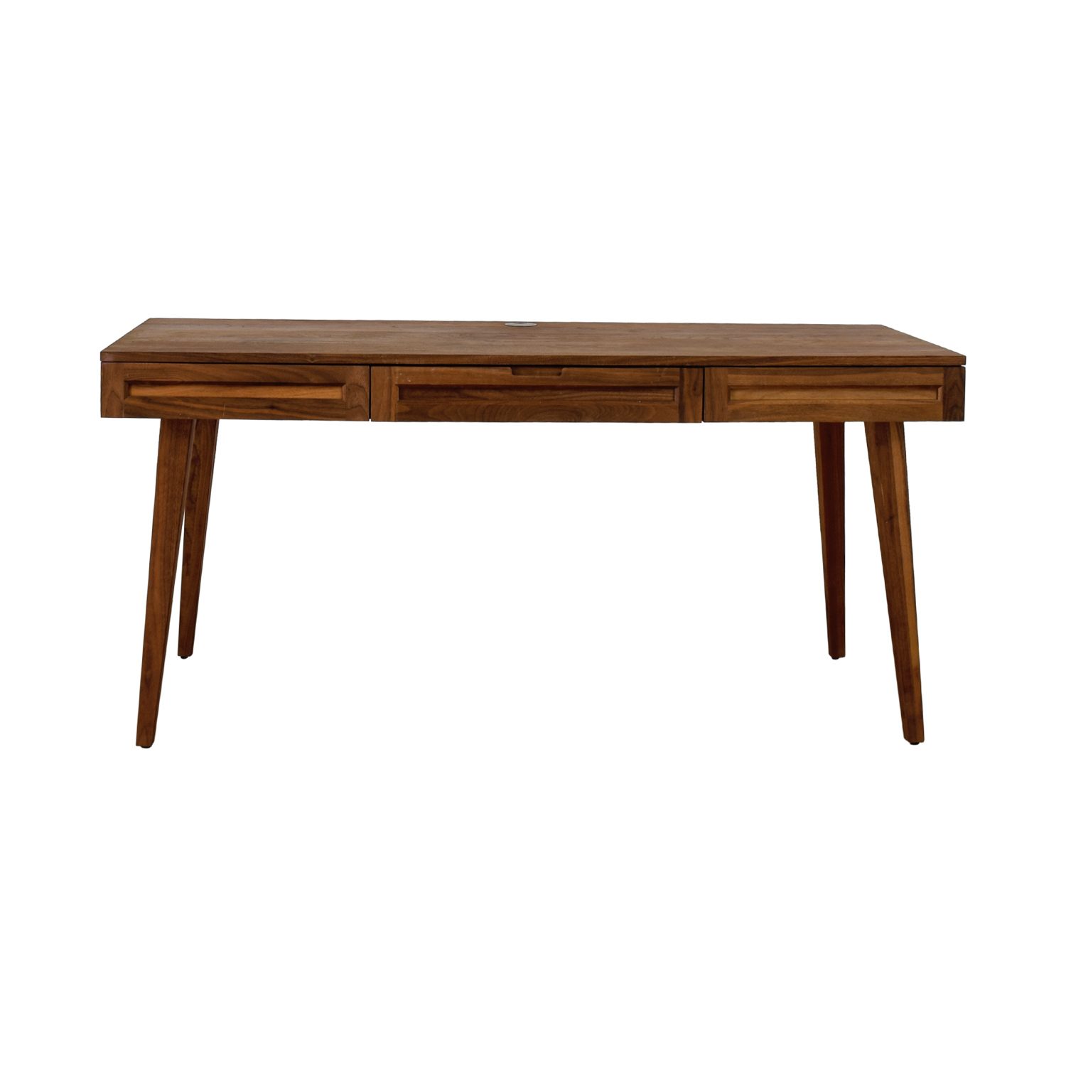 Highland Collection Highland Collection Maple Wood Desk dimensions