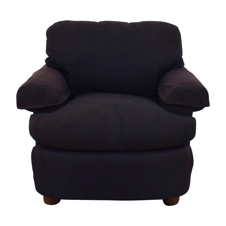 Dark Brown Accent Chairs.81 Off Dark Brown Felt Accent Chair Chairs