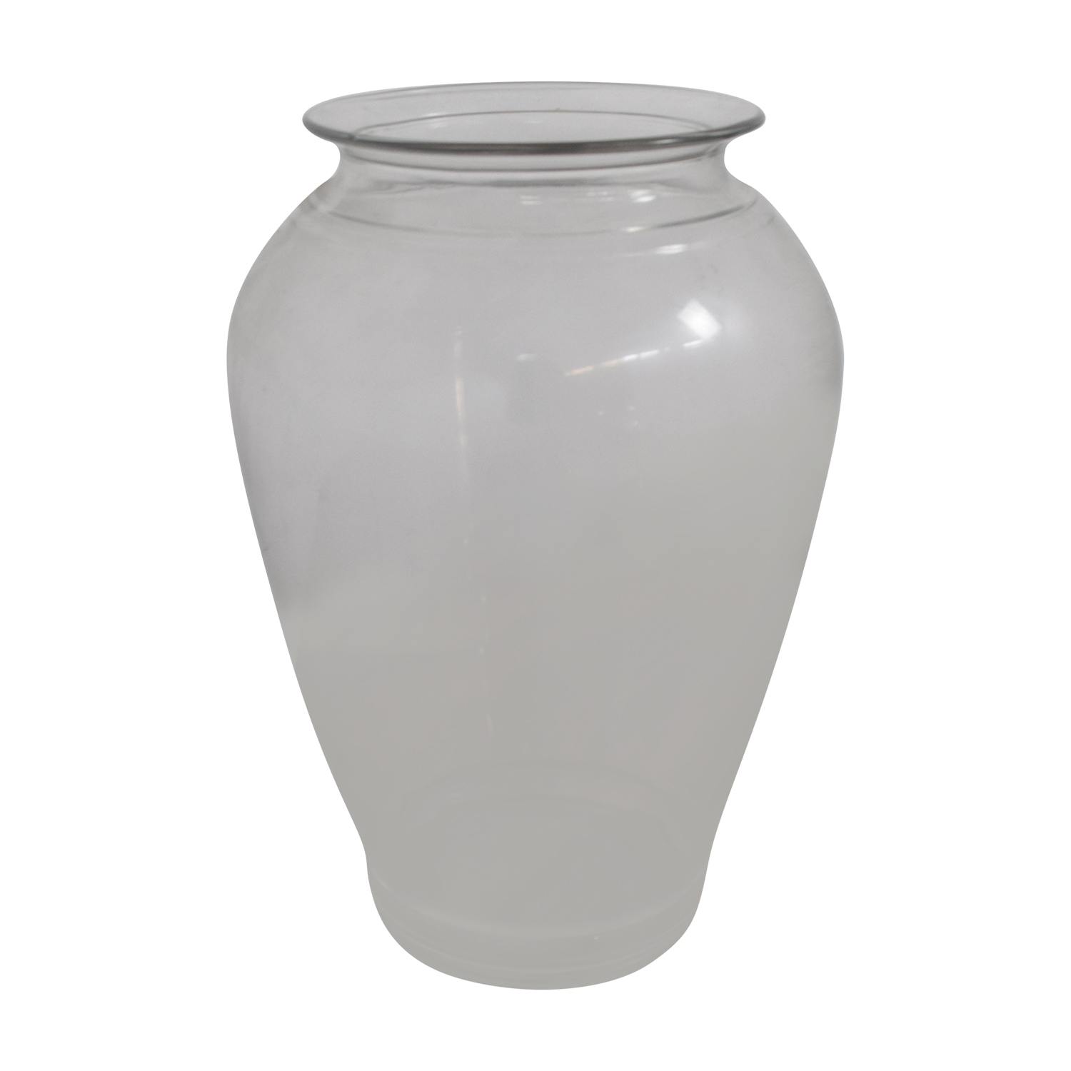Round Glass Vase sale