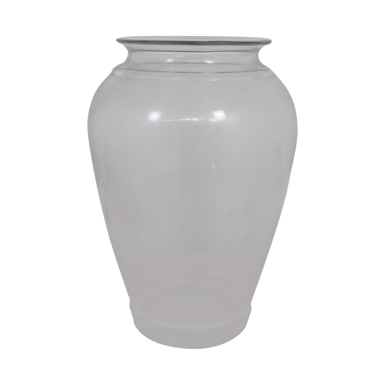 90% OFF - Round Gl Vase / Decor Round Gl Vase on
