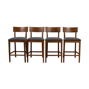Room & Board Room & Board Doyle Upholstered Counter Stools discount