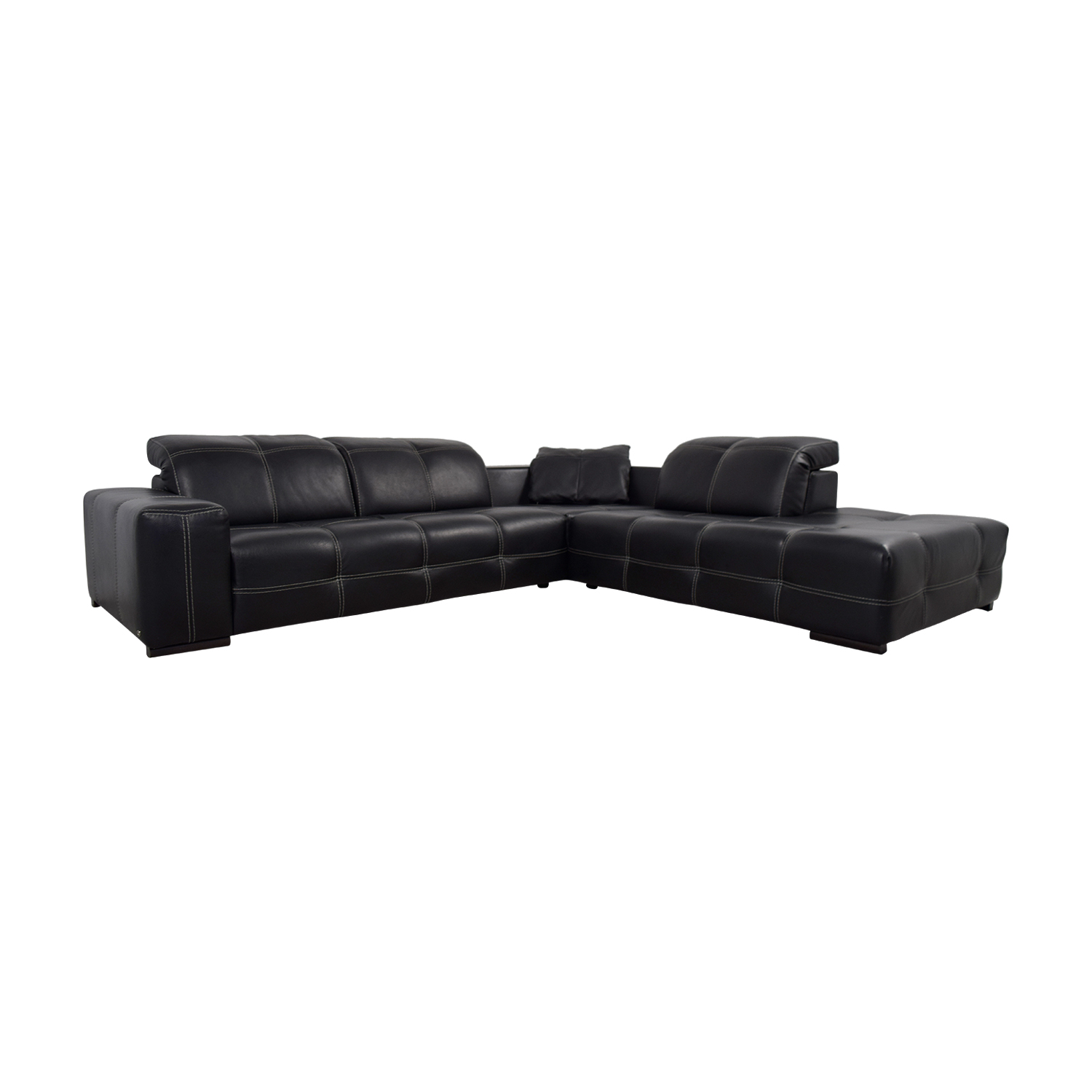 dorian quick sectional p piece living white view sofa natuzzi italia sectionals