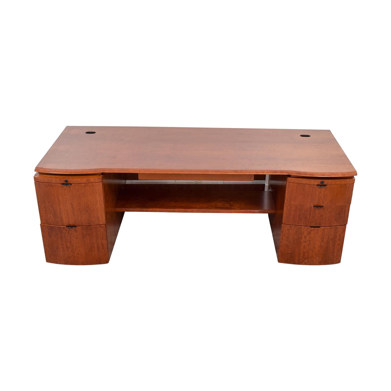 90% OFF   Knoll Knoll Executive Desk / Tables