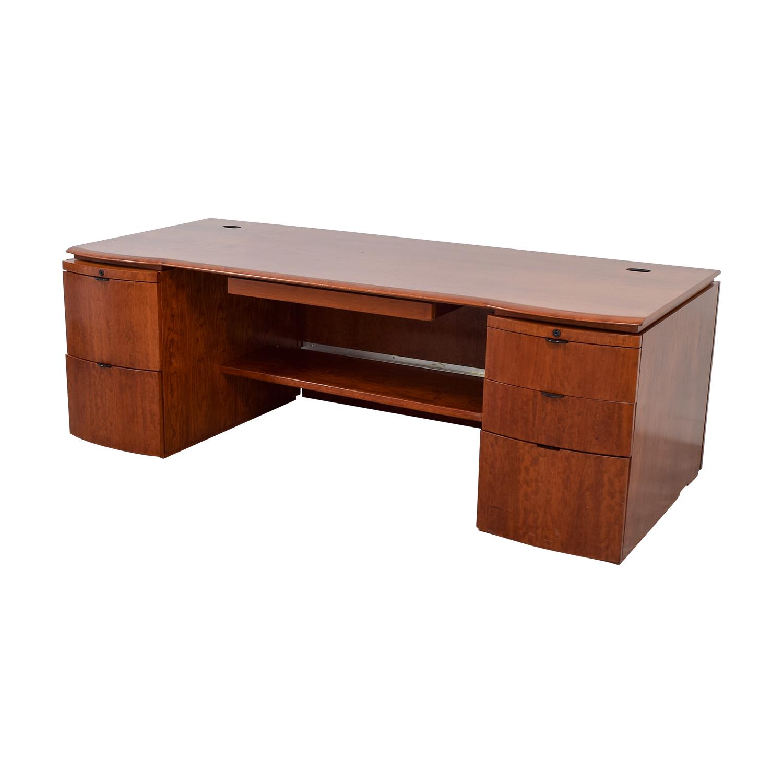 Knoll Executive Desk For