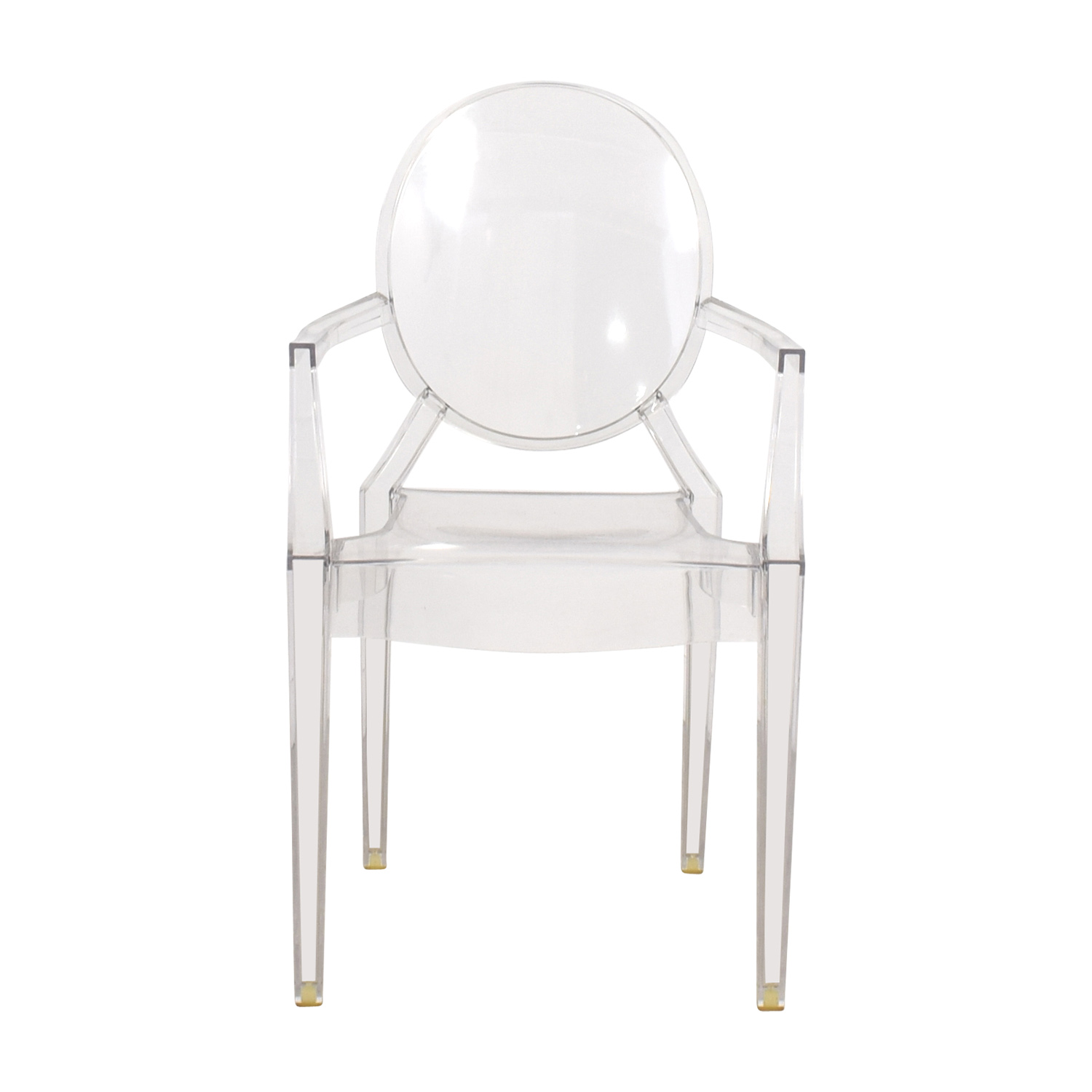 68% OFF - Kartell Kartell Louis Ghost Chair / Chairs