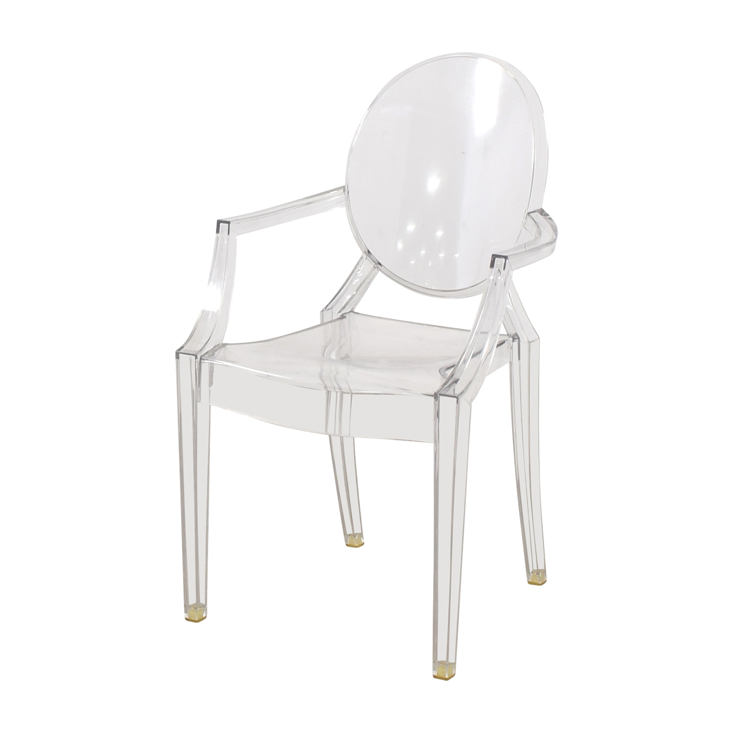 68 off kartell kartell louis ghost chair chairs. Black Bedroom Furniture Sets. Home Design Ideas