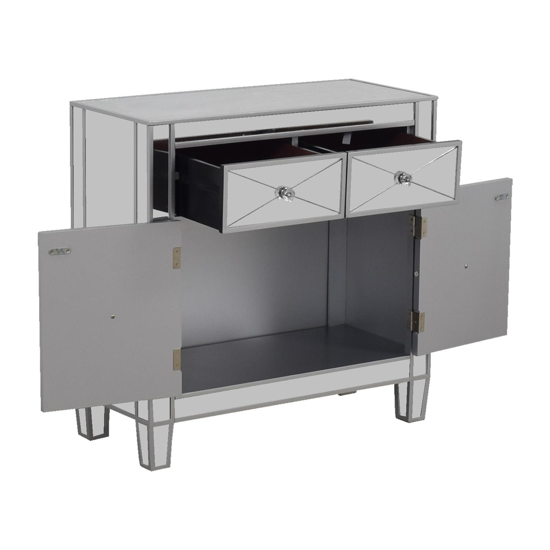 Wayfair Two Drawer Mirrored Dresser