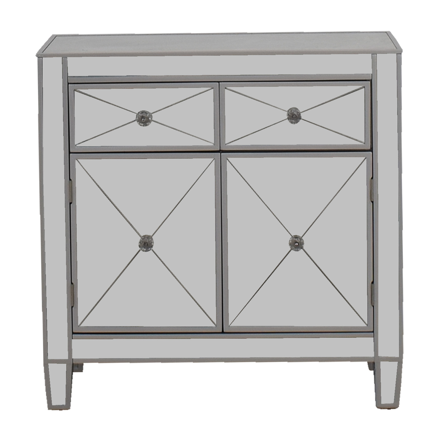 shop Wayfair Two-Drawer Mirrored Dresser Wayfair Dressers