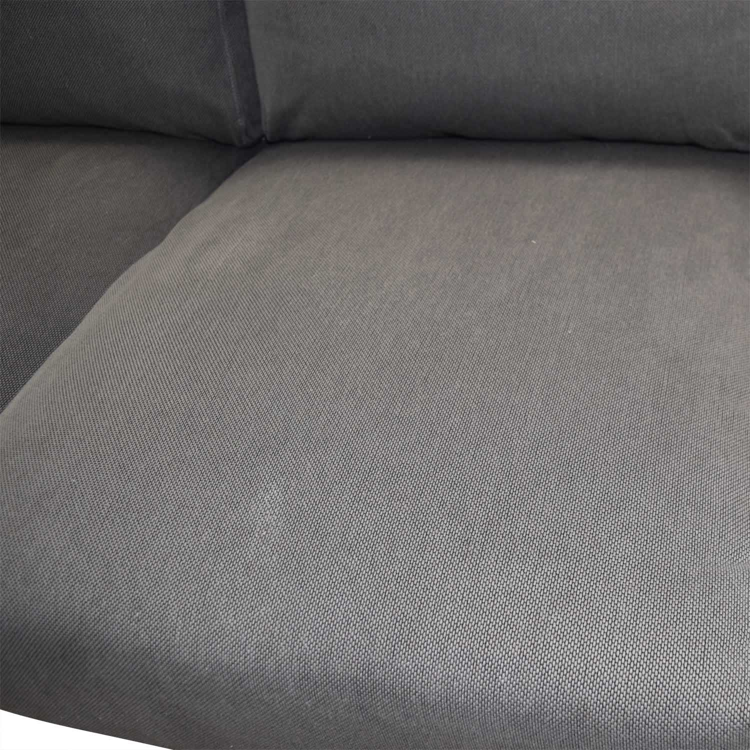 buy IKEA Norsborg Grey L-Shaped Sectional IKEA