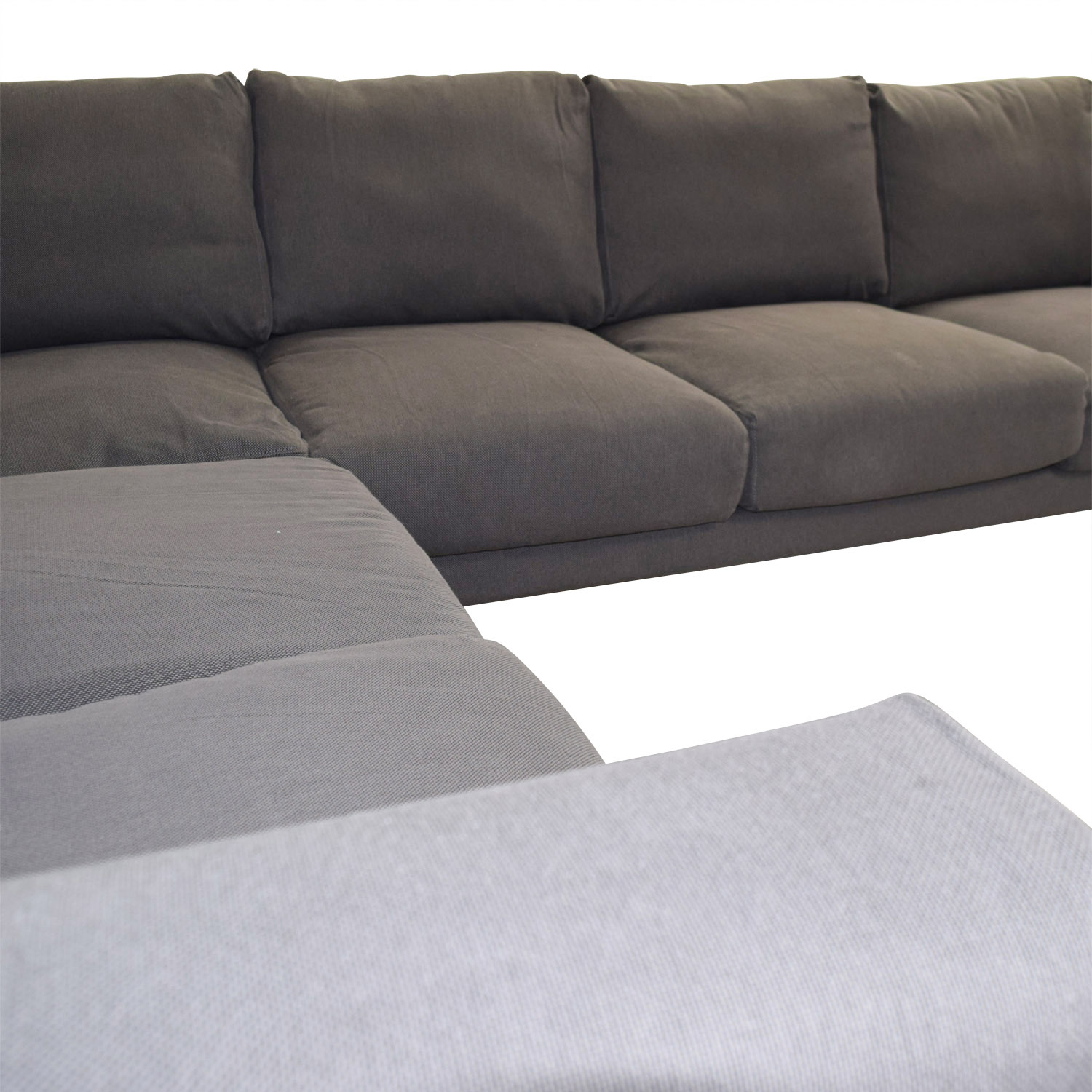 IKEA IKEA Norsborg Grey L-Shaped Sectional nyc