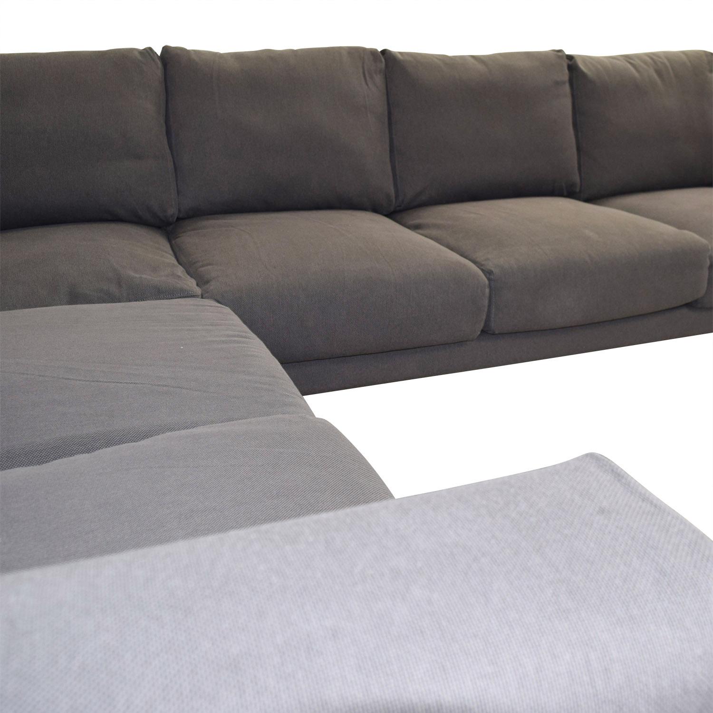 ikea ikea norsborg grey l shaped sectional