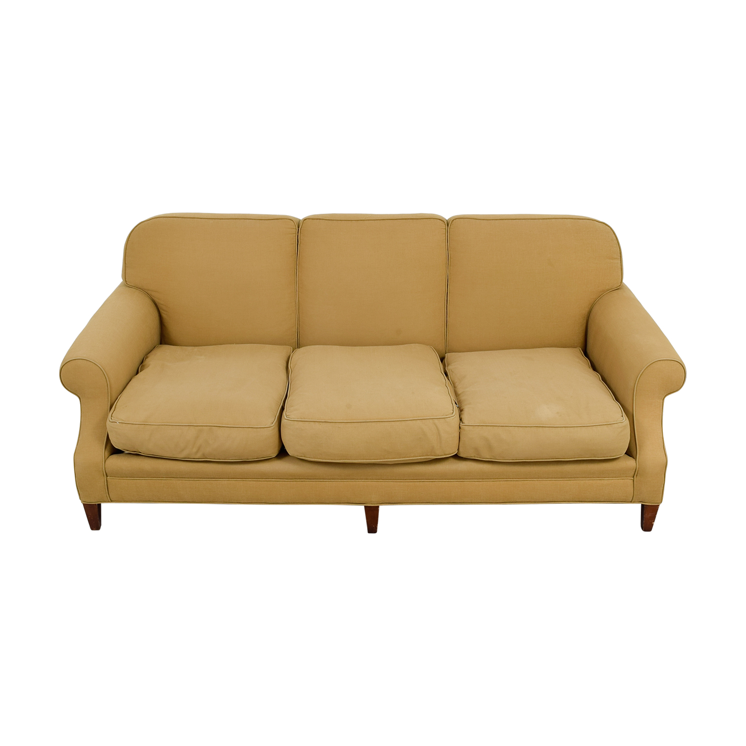 Beige Three Cushion Couch coupon