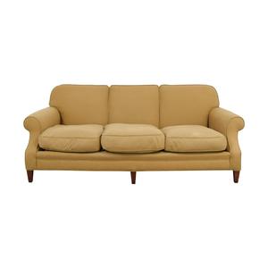 shop Beige Three Cushion Couch