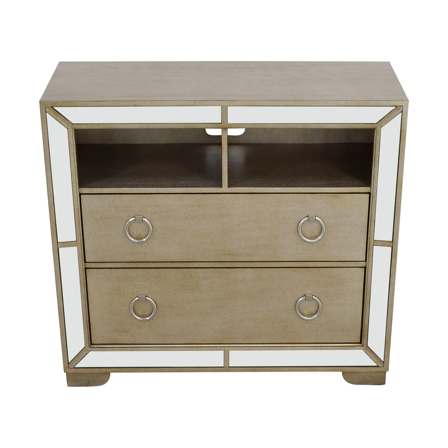 shop Z-Gallerie Art Deco Silver and Mirrored Dresser Z-Gallerie Dressers