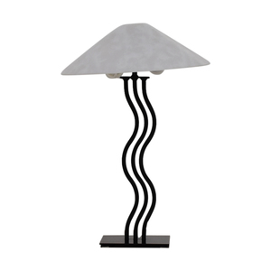 Art Deco Wave Table Lamp for sale